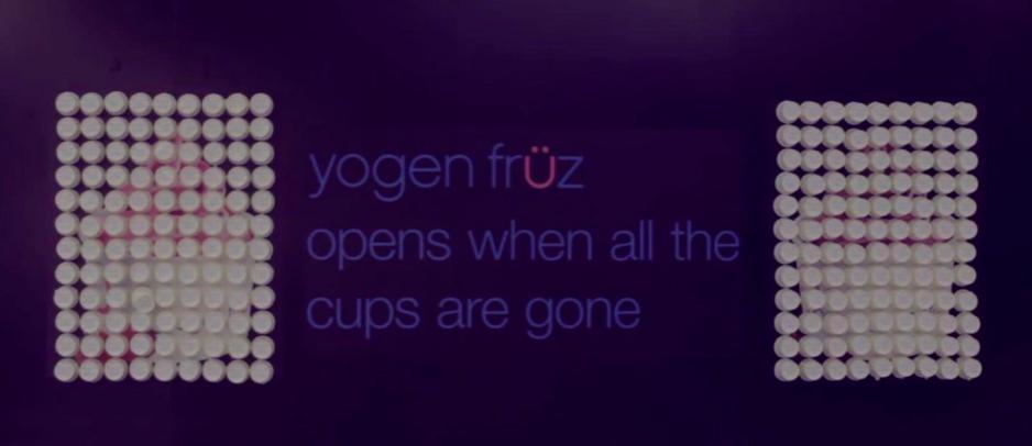 Yogen Fruz y su guerrilla marketing