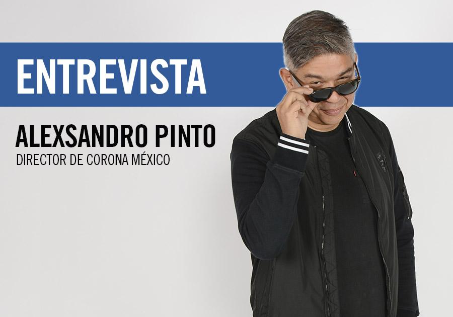Alexandro Pinto, director de Corona México