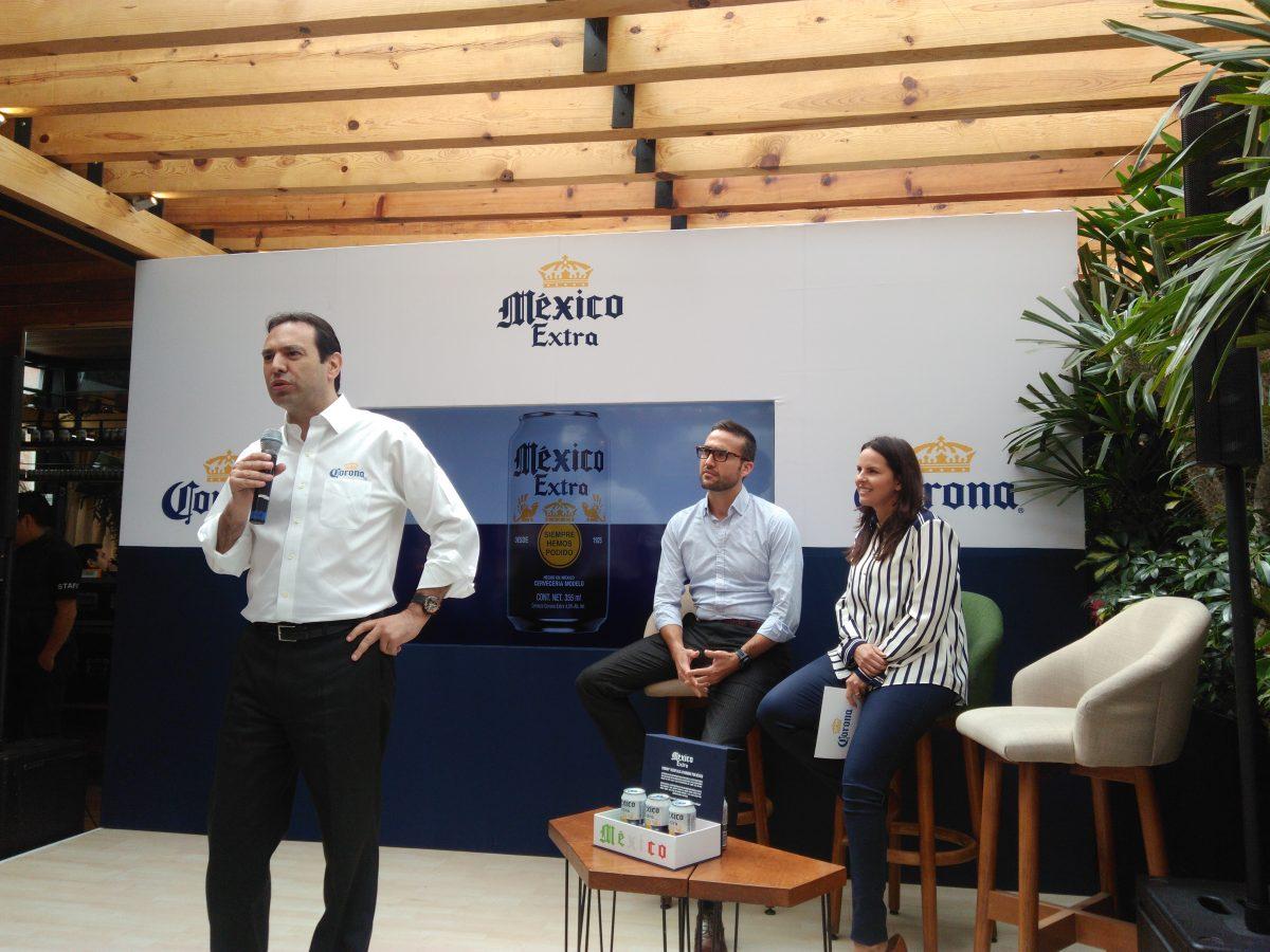 Mauricio Leyva, director general de Grupo Modelo presenta México Extra