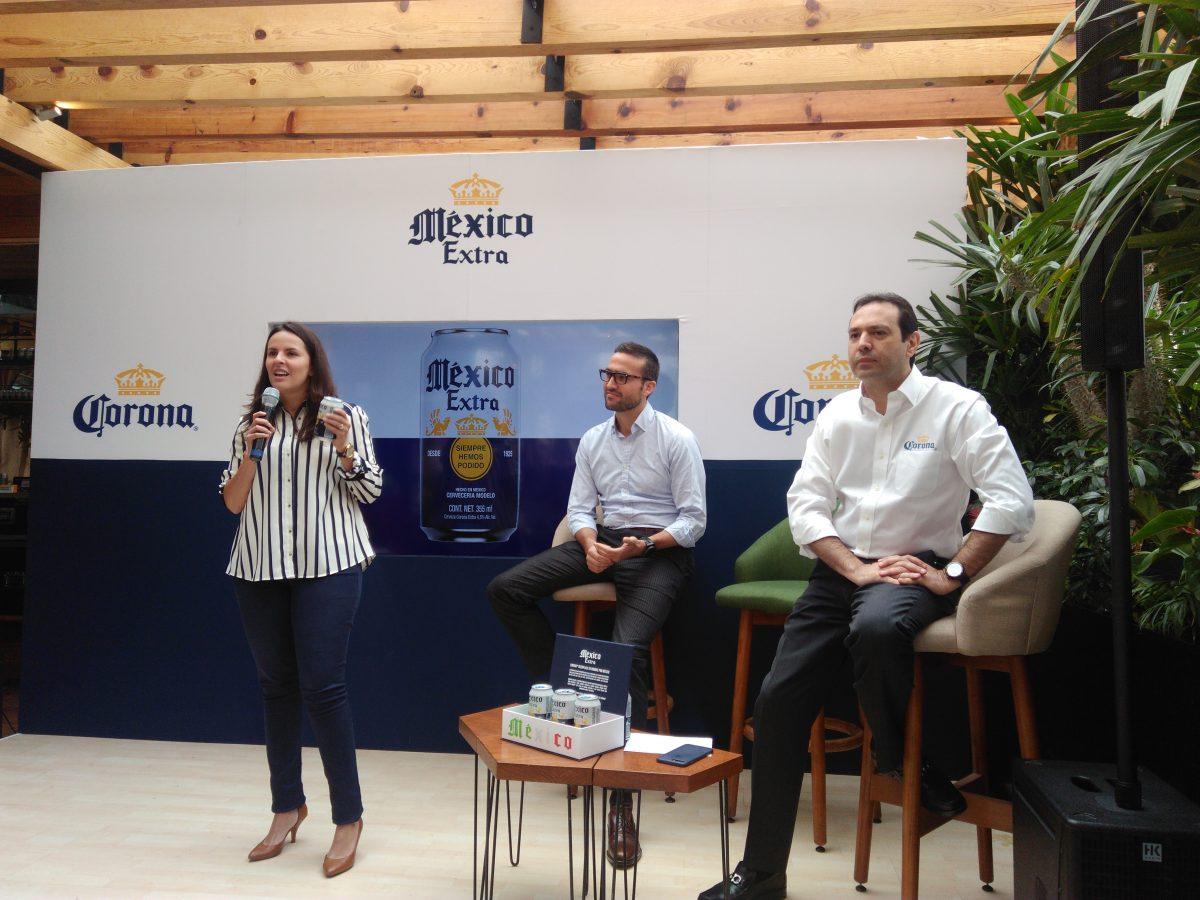 Lucía Olvera, directora de comunicación de Cerveza Modelo presenta México Extra