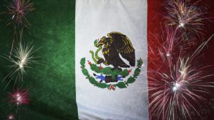 Mexico Firework septiembre