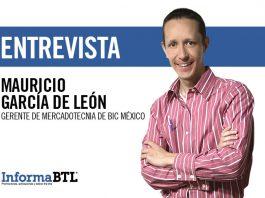 Mauricio García, gerente de marketing de BIC