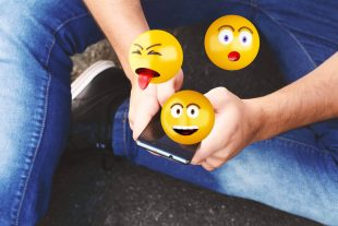 sending emojis using social