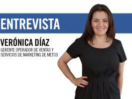 Verónica Díaz, gerente operador de ventas y servicios de marketing de Metco.