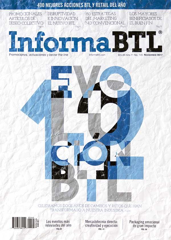 Portada InformaBTL, noviembre 2017