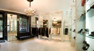 Punto de venta de marcas de lujo