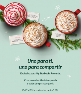 Promoción de Starbucks