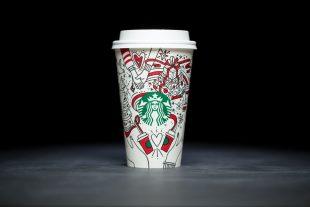 Starbucks Vaso Navideño