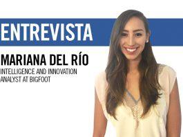 Mariana del Río, intelligence and innovation analyst at BIGFOOT