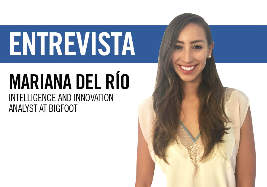 Mariana del Río, intelligence and innovation analyst at BIGFOOT