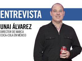 Unai Álvarez, director de marca Coca-Cola en México