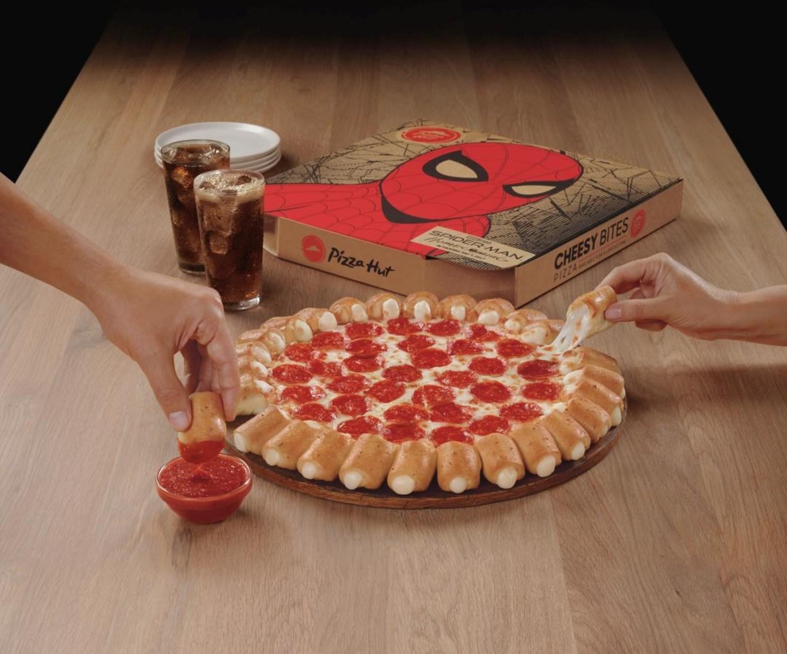Pizza Hut Cheesy