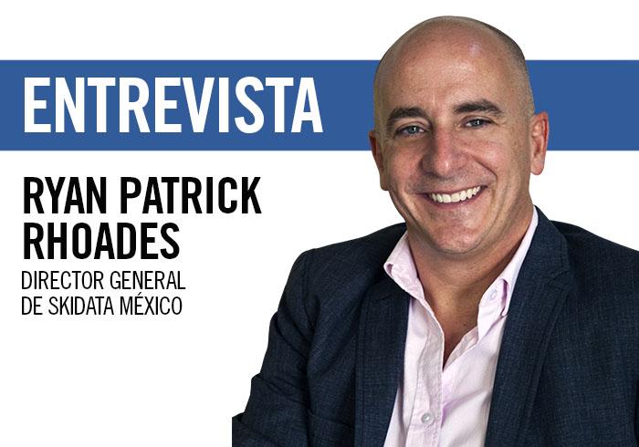 Ryan Patrick Rhoades, director general de Skidata México