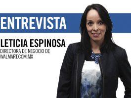 Leticia Espinosa, directora de negocio de Walmart.com.mx
