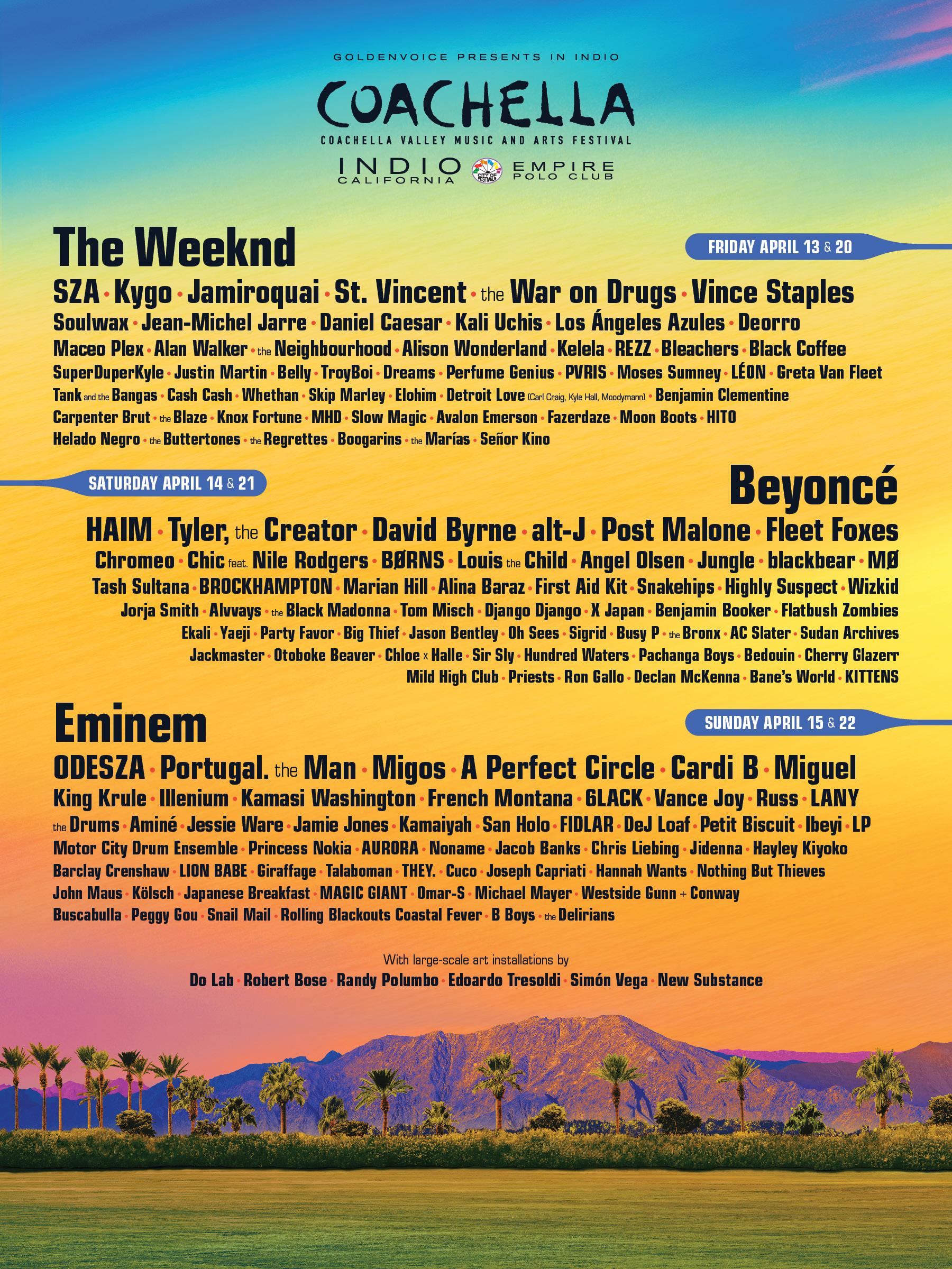 Cartel de Coachella