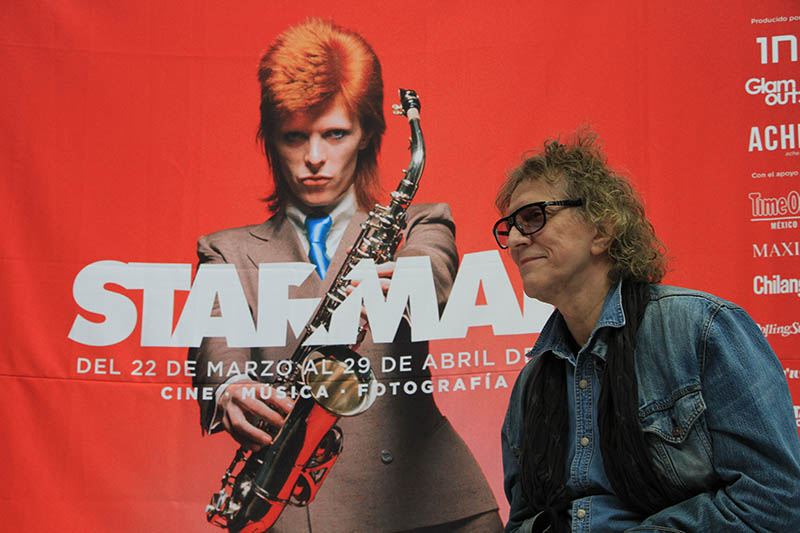 Mick Rock en STARMAN