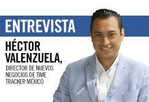 Héctor Valenzuela, director de nuevos negocios de Time Tracker México