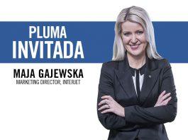 Maja Gajewska, directora de marketing de Interjet