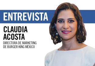 Claudia Acosta, directora de marketing de Burger King México