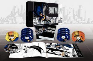 Caja de la serie animada de Batman