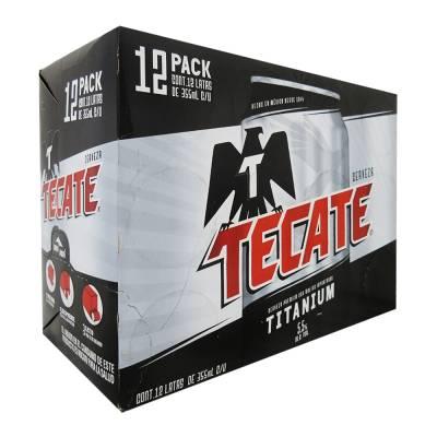 Cerveza Tecate Titanium