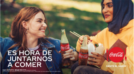 Cortesía de Coca-Cola