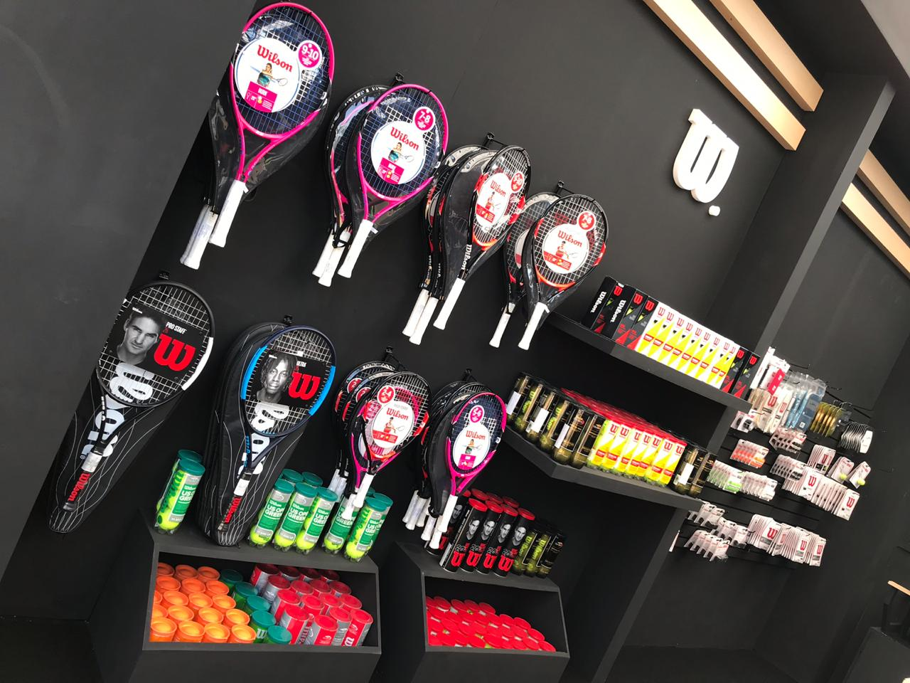 Stand en el Abierto Mexicano de Tenis