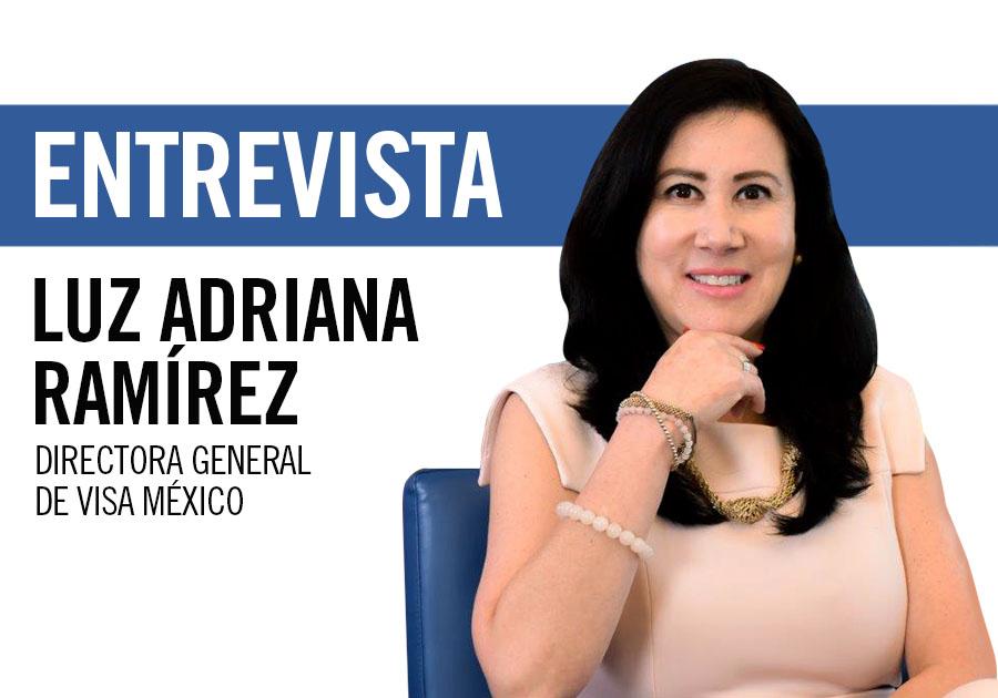 Luz Adriana Ramírez, directora general de Visa México