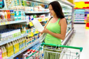 Mujer en retailer