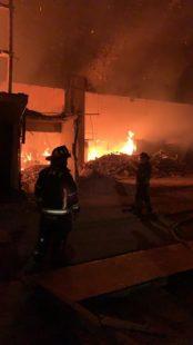 Incendio en la Merced