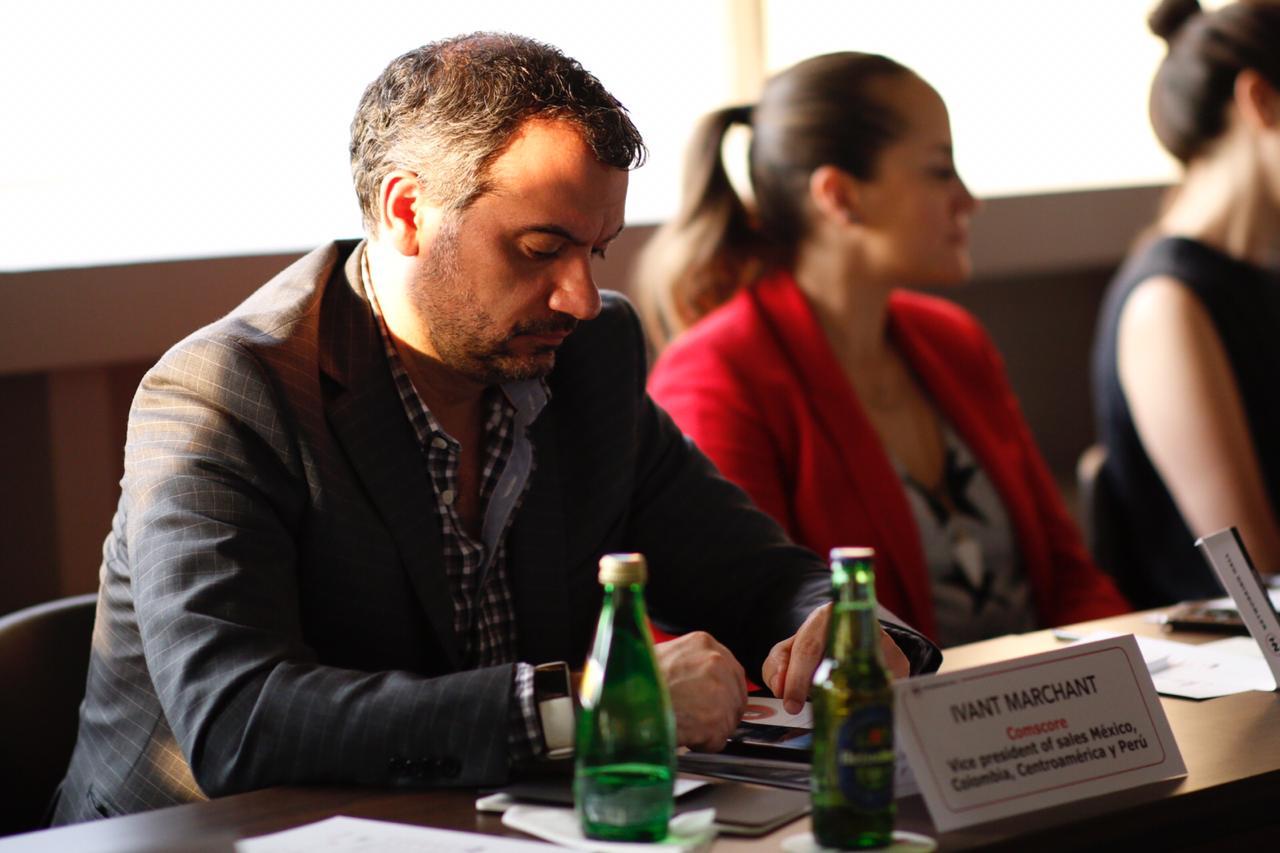 Iván Marchant, vice president sales Mexico, Colombia, Centroamérica & Perú en Comscore