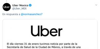 Uber cancela