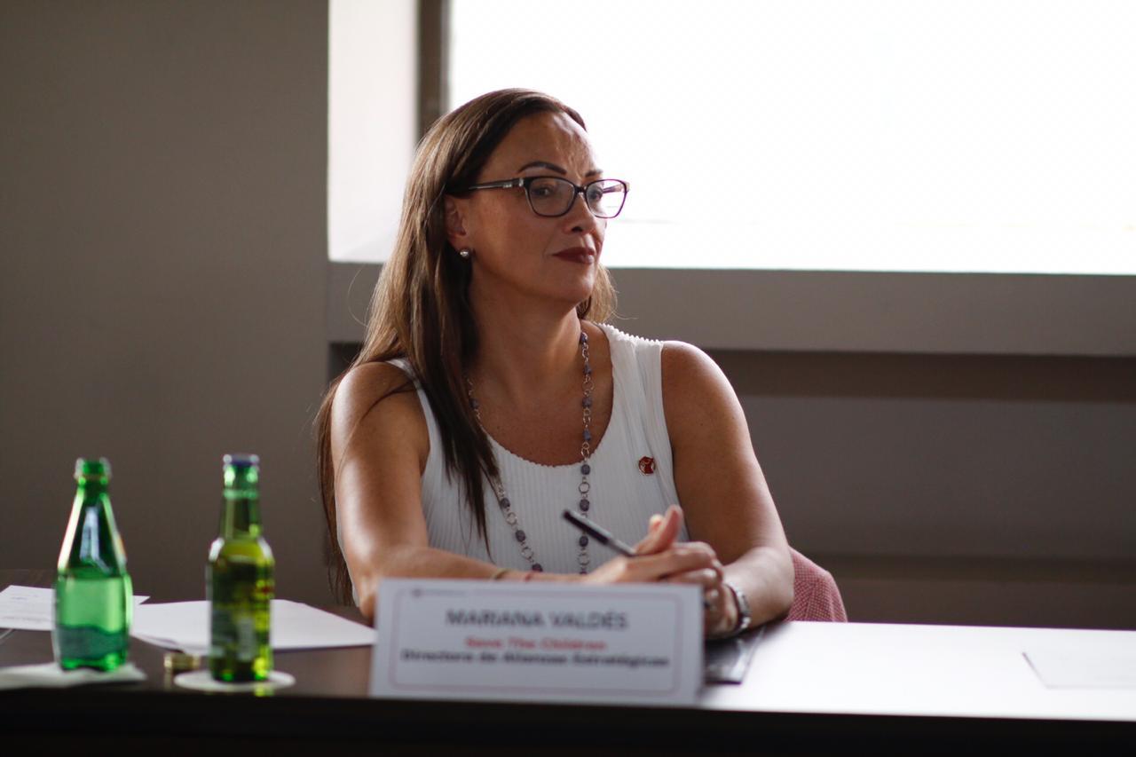 Mariana Valdés, directora de alianzas estratégicas de Save The Children