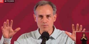 Hugo López-Gatell informa sobre el estatus del cornavirus COVID19