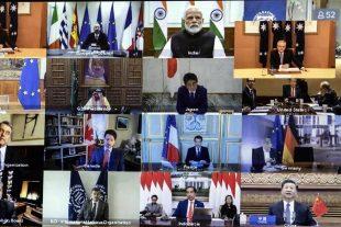 Videollamada de la cumbre del G20
