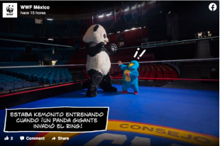 La Hora del Planeta con Kemonito como embajador de marca