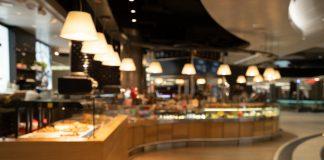 Restaurante vacío por COVID19