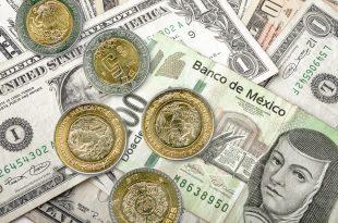 Valor del peso frente al dólar