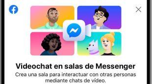 Messenger Rooms de Facebook
