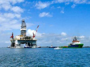 Producción de petróleo en México