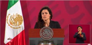 Luisa María Alcalde, titular de STPS, señala a Coppel por no haber cerrado