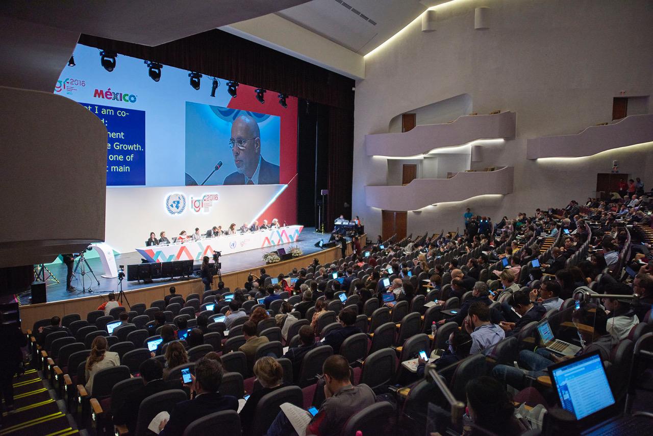 Internet Governance Forum para la ONU.