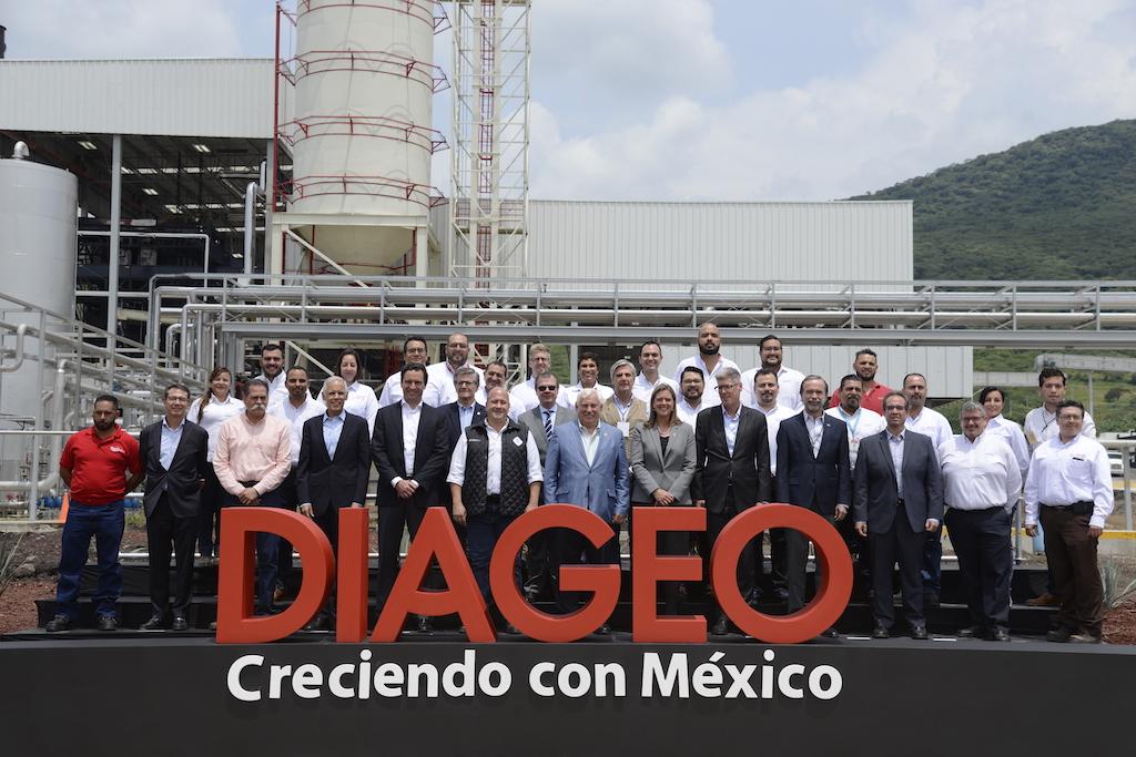 Inauguración de instalaciones DIAGEO Jalisco.