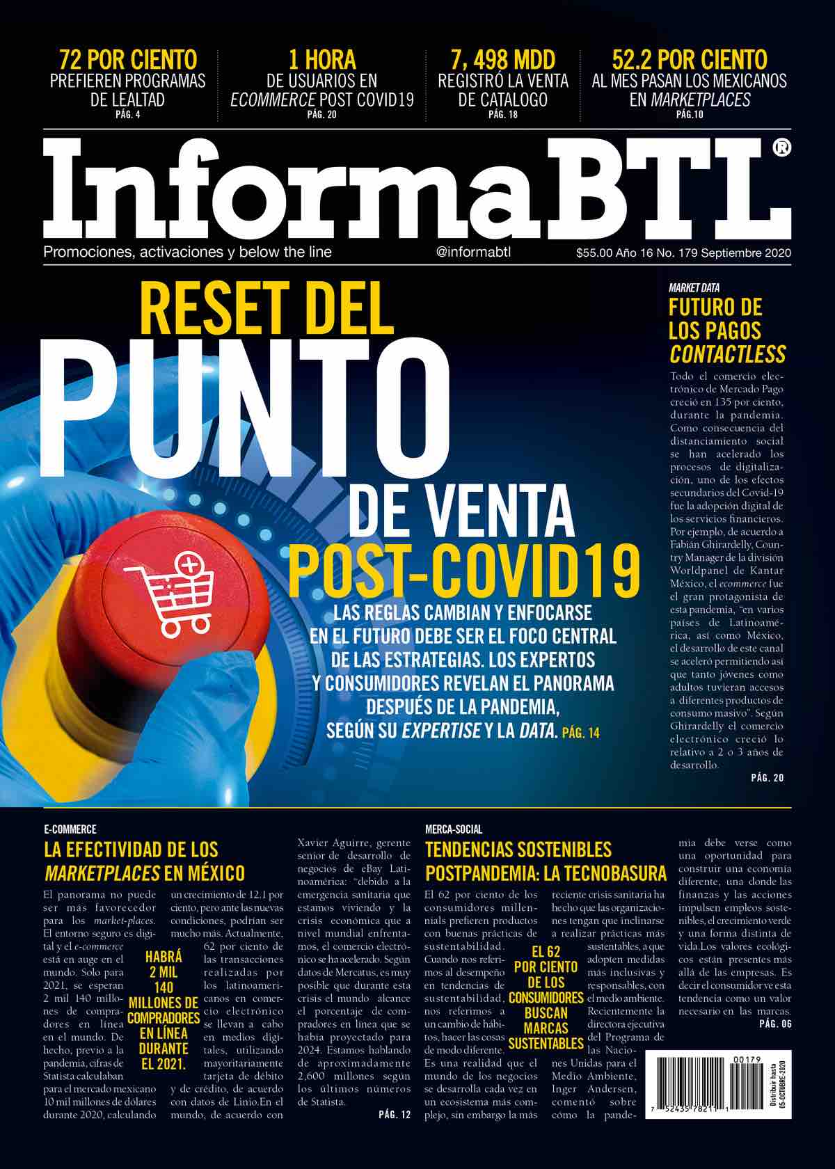 Suscríbete a la Revista InformaBTL