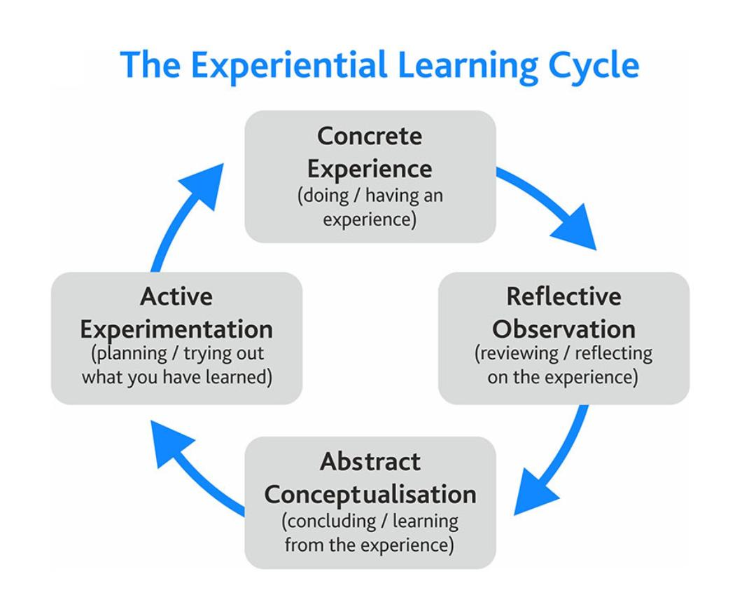 The experiental learning cycle