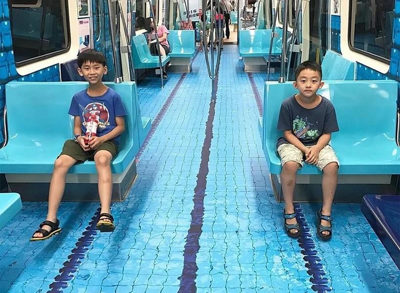 street marketing - metro en taiwan