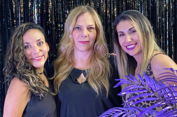 Andrea Huerta, Ivonne Raimond Kedilhac y Alicia Acosta, socias líderes de iEvents