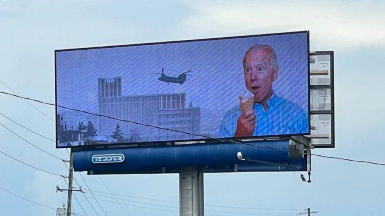 DOOH Joe Biden