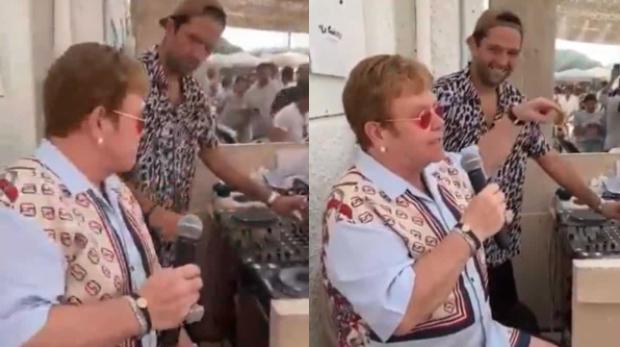 Elton John / Restaurante