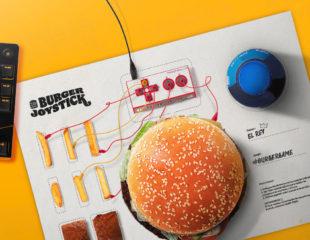 Burger King transforma su Wopper en un Joystick